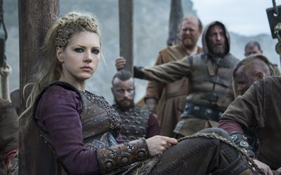 vichinghi, canadese, irlandese serie tv, katheryn winnick, attrice canadese, lagertha