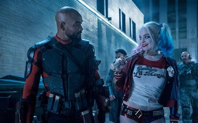 suicide squad, floyd lawton, australian actress, 2016, will smith, fiction thriller, margot robbie, harley quinn