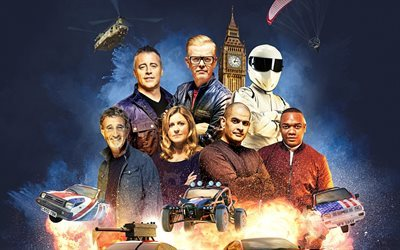 2016, chris evans, matt leblanc, bbc, rory reid, sabine schmitz, top gear, chris harris, eddie jordan