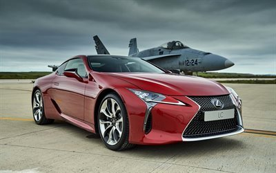 sports coupe, lexus, madrid, base torrejon, lc 500