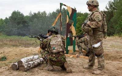 national guard, ukraine, exercises, american instructor