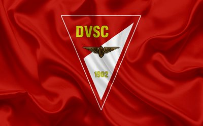 Debreceni Vasutas Sport Club, Hungarian football team, emblem, Debreceni logo, Debrecen, Hungary, football, Hungarian football league