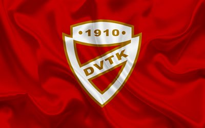 Diosgyori VTK, Hungarian football team, Diosgyori emblem, logo, Miskolc, Hungary, football, Hungarian football league