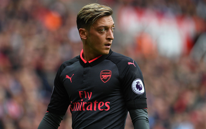 Download wallpapers Arsenal, Mesut Ozil, football stars ...