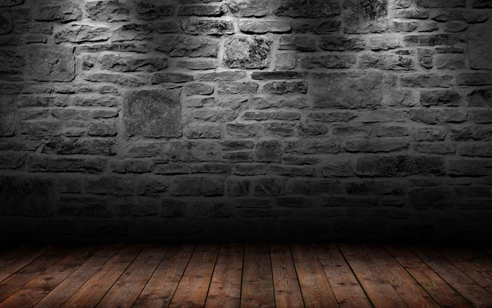 Wallpapers Wooden Floor With