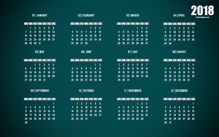 Yearly Calendar Wallpaper : ダウンロード画像 カレンダーを 年 グリーン 年カレンダー k すべての月 フリー の
