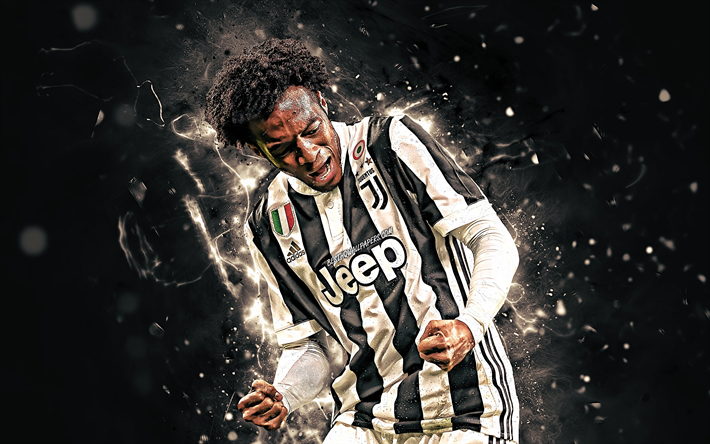 Download Wallpapers Juan Cuadrado Joy Colombian Footballers Juventus Fc Fan Art Juan Guillermo Cuadrado Bello Juve Footballers Soccer Italy Cuadrado Juventus For Desktop Free Pictures For Desktop Free