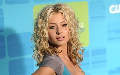 Alyson Michalka, blonde, beautiful woman, actress, portrait, makeup
