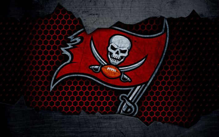Tampa Bay Buccaneers 4k Logo NFL American Football NFC USA