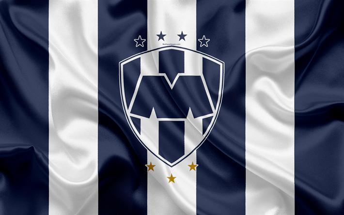 Descargar fondos de pantalla Monterrey FC, 4K, Mexicana de Fútbol del Club, emblema, logotipo ...