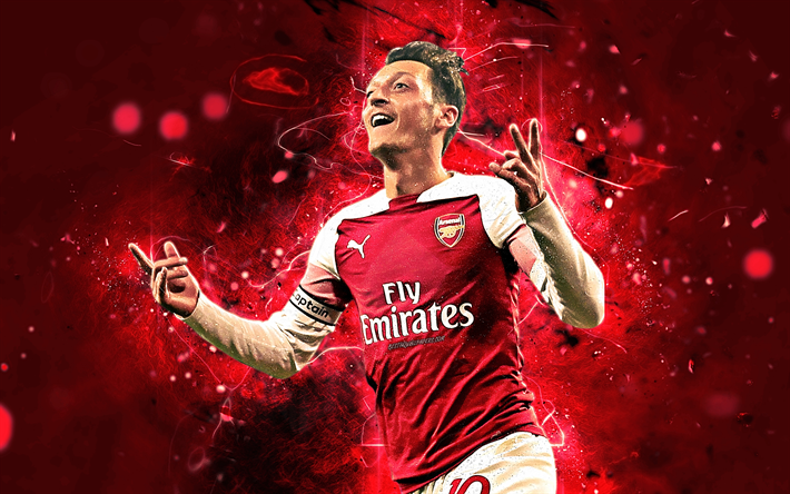 Download Wallpapers Ozil, Joy, Striker, Arsenal FC