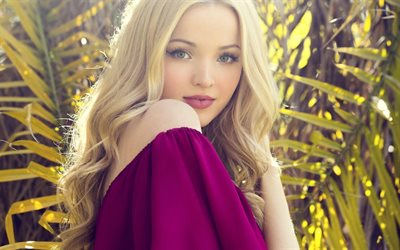 Dove Cameron, 2018, portrait, blonde, photoshoot, movie stars, Hollywood, beauty