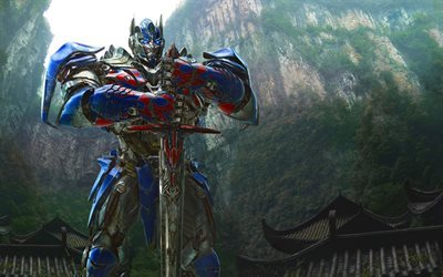 Transformers 5, 2017, The Last Knight, Optimus Prime