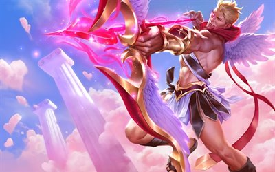 Cupid, characters, art, League Of Legends
