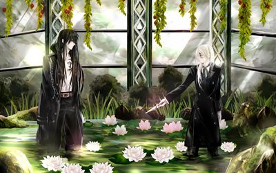 DGray-man, Tous Walker, Yuu Kanda, Japanese anime, manga, art