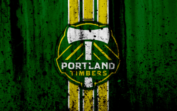 4k FC Portland Timbers Grunge MLS Soccer Western Conference Football