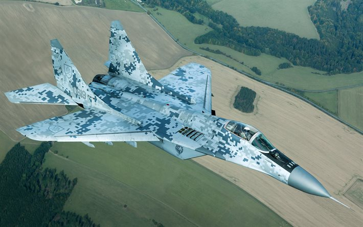 MiG-29, Slovak fighter, MiG-29AS, Slovakia Air Force, combat aircraft, military aircraft