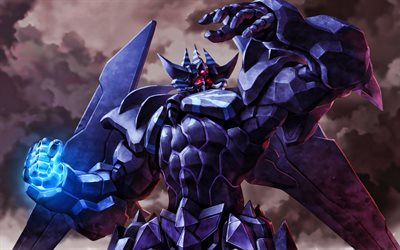 Obelisk The Tormentor, manga, Yu-Gi-Oh, monsters, artwork, Yu-Gi-Oh The Dark Side of Dimensions, Yu-Gi-Oh characters