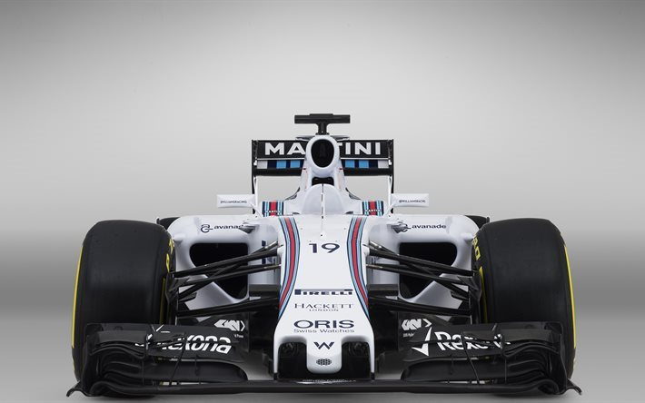 Download Wallpapers Williams FW37 4K F1 2017 Cars