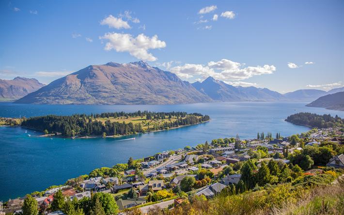 foto de Télécharger fonds d'écran La nouvelle Zélande 4k le lac