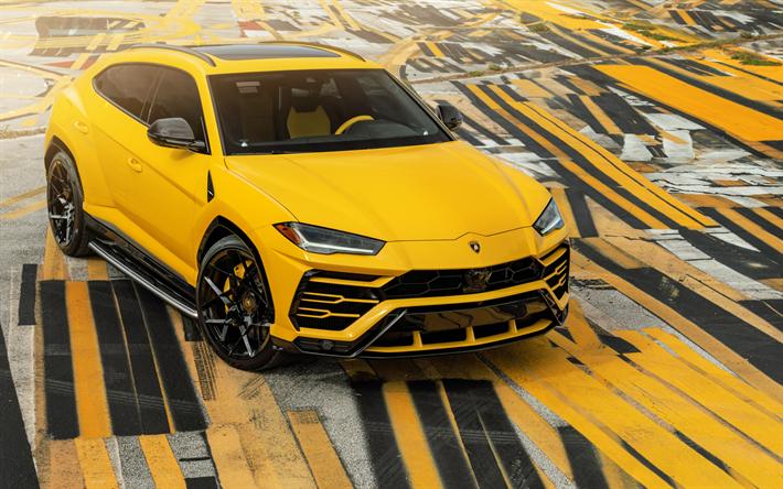 Download wallpapers Lamborghini Urus, 2019, Super Sport
