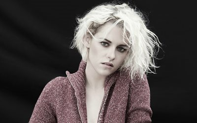 Kristen Stewart, Hollywood, blonde, american actress, beauty