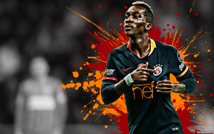 Download Wallpapers Henry Onyekuru, Galatasaray, Nigerian