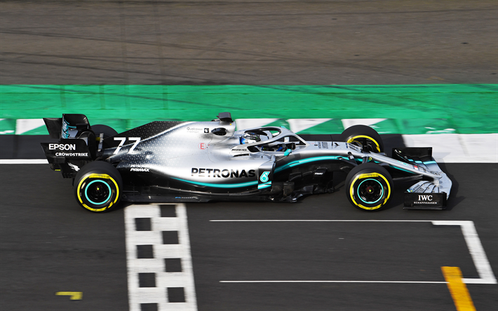 Download Wallpapers 2019 Mercedes Amg F1 W10 Eq Power New Racing