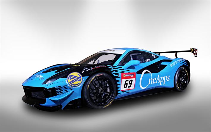Zen Low, 4k, OneApps NAZA Aylezo, 2018 Cars, Racing Driver, Ferrari