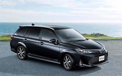 Download wallpapers Toyota Harrier GR Sport, 4k, 2018 cars, SUVs