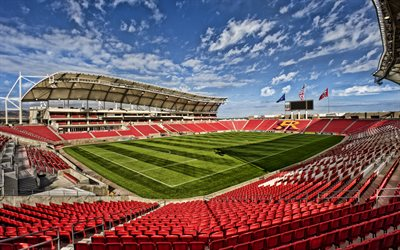Rio Tinto Stadium, The RioT, Sandy, Utah, Real Salt Lake Stadium, MLS, football stadium, Real Monarchs SLC Stadium, Real Salt Lake, USA, Major League Soccer