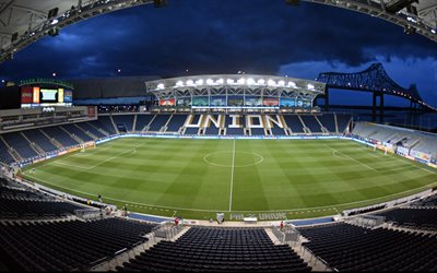 Talen Energy Stadium, Subaru Park, inside, PPL Park, football stadium, MLS, Philadelphia Union stadium, Major League Soccer, Chester, Pennsylvania, Philadelphia Union