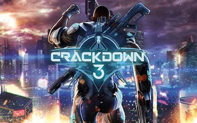 Crackdown 3, 4k, 2017 games, shooter