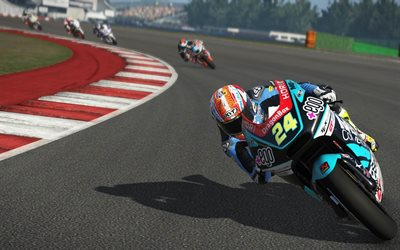 gameplay, MotoGP 17, 2017 games, sport simulator