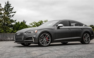 Audi S5 Sportback, 2018 cars, US-spec, german cars, Audi