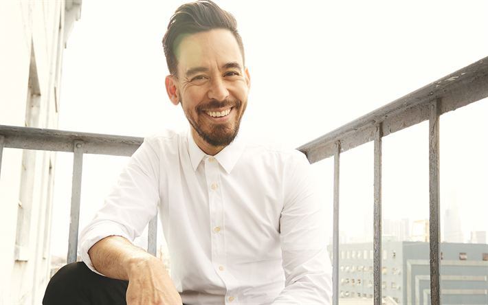 Download Wallpapers Mike Shinoda Linkin Park 4k Vocalist