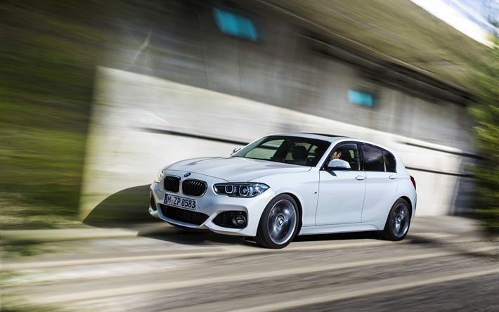 Download Wallpapers Bmw 1 Series F20 4k 2017 Cars