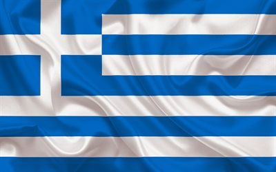 Greek flag, Europe, Greece, flag of Greece