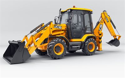 JCB 3CX Compact, 4k, backhoe loader, JCB, special equipment