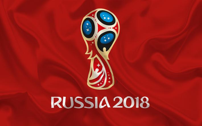 Descargar fondos de pantalla Rusia 2018, el logotipo, el ...