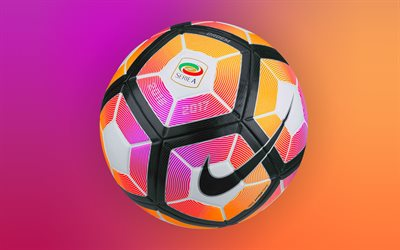 Nike, football, Serie A 2016-2017 Ball, soccer