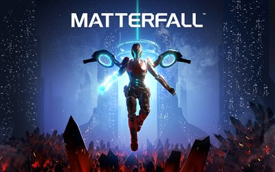Matterfall, 2017, games for PS4, PlayStation 4, Poster, new games