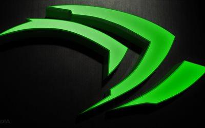 Download Wallpapers 4k 3d Logo Nvidia 4k Creative For