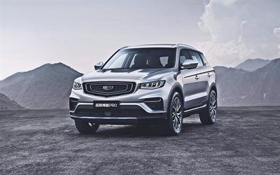 Geely Bo Yue Pro, offroad, 2020 carros, crossovers, Geely NL-3B, 2020 Geely Bo Yue Pro, carros chineses, Geely