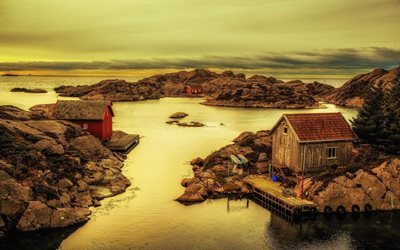 rogaland, fishing village, norway