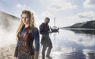 vikings, canadian-irish tv series, katheryn winnick, canadian actress, lagertha