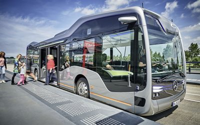 concept, mercedes-benz, 2016, future bus