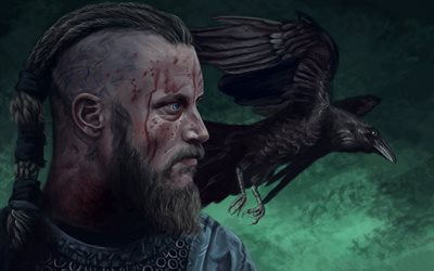 art, canadian-irish tv series, vikings, ragnar lothbrok