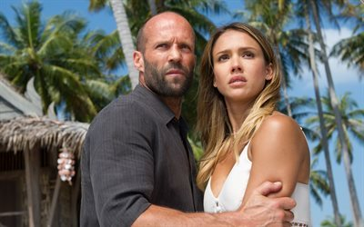 thriller, jason statham, action, 2016, mechanic-resurrection, jessica alba