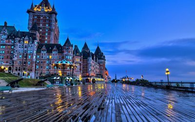 hotel chateau frontenac, qc, كورنيش, كندا